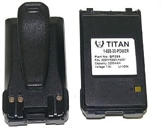 Lot of 2 2200mAh BP264 BP265 NI-MH Battery Pack for ICOM Radio IC-T70 IC-FT70A