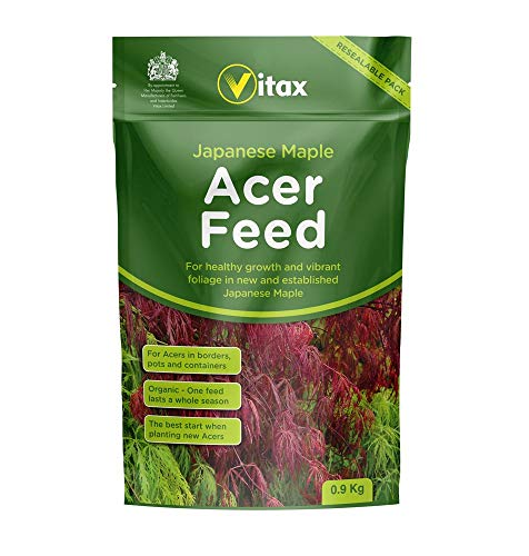 Vitax VTX6AF901 Japanese Maple Acer Feed 0.9kg Pouch