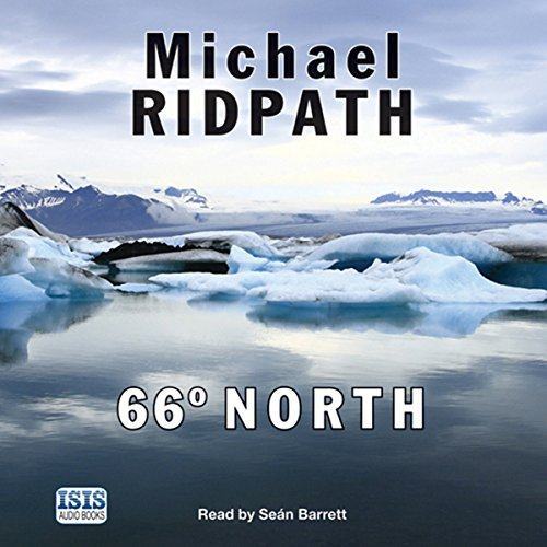 66 Degrees North audiobook cover art