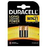 Duracell MN21 - Pilas (Alcalino, Cilíndrico, 12V, 7,4g (0.261 oz), MN21)