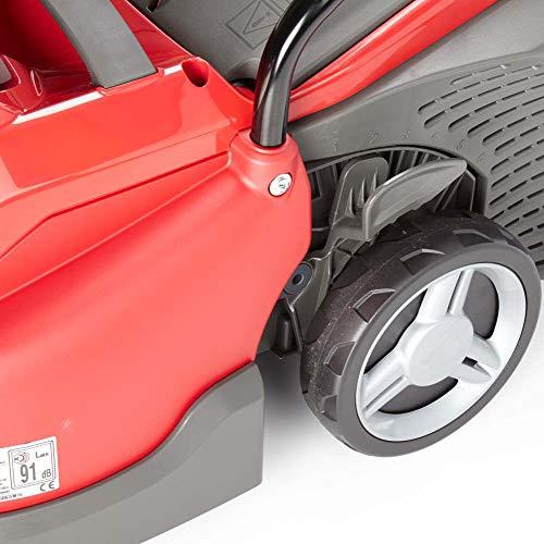 Mountfield 294340063/M13 Princess 34 Electric 4 Wheel Rear Roller Lawnmower, 1400 W