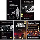 Bundle: Rory Miller Collection (YMAA books) Conflict Communication, Violence / Force
