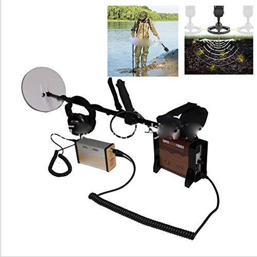 Review WSBBQ Metal Detector Kit Waterproof Handheld LCD Display Metal Finder Treasures Seeking Tool ...