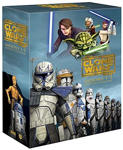 Star The Clone Wars-L'intégrale-Saisons 1 à 5 [Édition Collector]