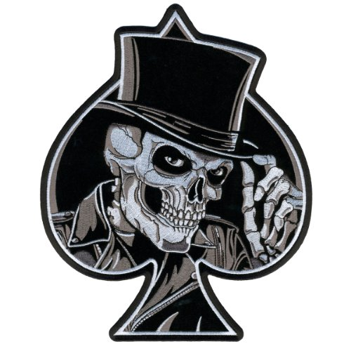 Hot Leathers Top Hat Skull Patch (4