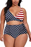 18. Sovoyontee Plus Size Two Piece