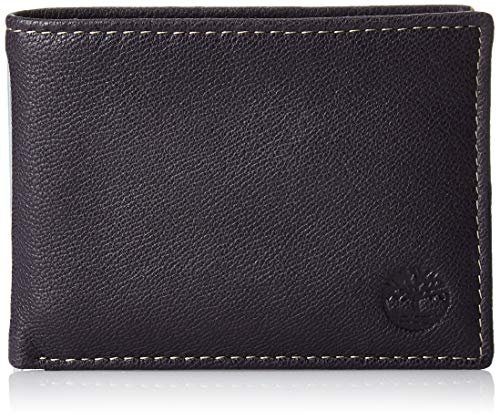 Timberland Men's Leather RFID Bl...
