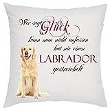 Creativ Deluxe Wer SAGT Glück kann Man Nicht anfassen hat nie einen Labrador gestreichelt...