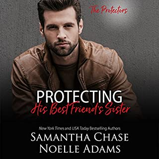 Protecting His Best Friend's Sister audiobook cover art