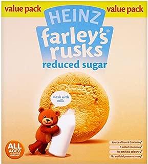 Farleys Rusks 4 Month Reduced Sugar Original 300g X 4 Pack