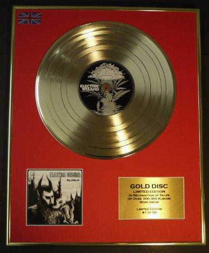 Electric Wizard/LTD. Edition CD Gold Disque/enregistreur/DOPETHRONE
