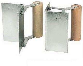 Silverline 633461 Hörnspatel för inomhus- och utomhusbruk, 2 delar set 120 mm
