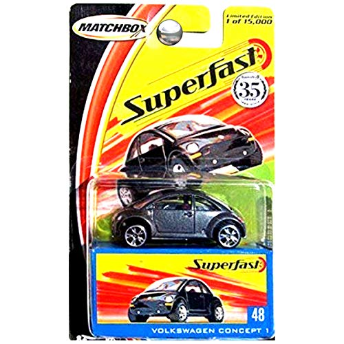 Matchbox Superfast #48 - Volkswagen Concept 1 Limited Edition 1 of 15,000 by