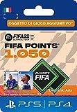 FIFA 22 Ultimate Team - 1050 FIFA Points | Codice download per PS4/PS5 - Account italiano