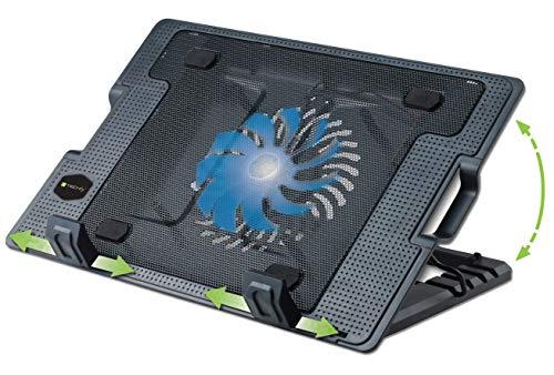Techly 106244 Supporto per Notebook Fino a 17.3  con Sistema di Raffreddamento