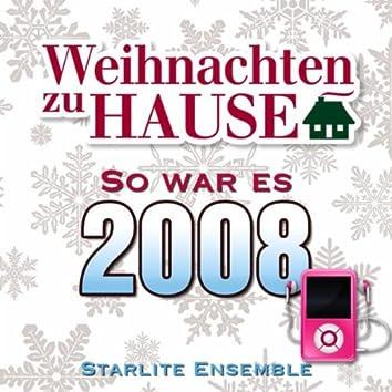 Weihnachten zu Hause: So war es 2008
