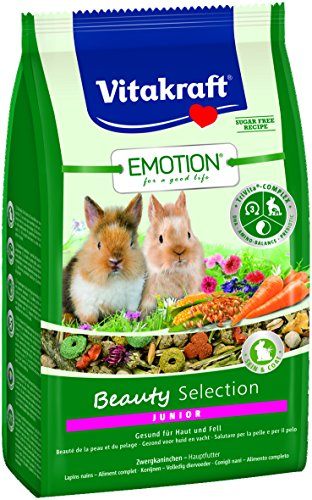 Vitakraft Emotion BeautySel. Junior Zwergkaninchen 5x  600g