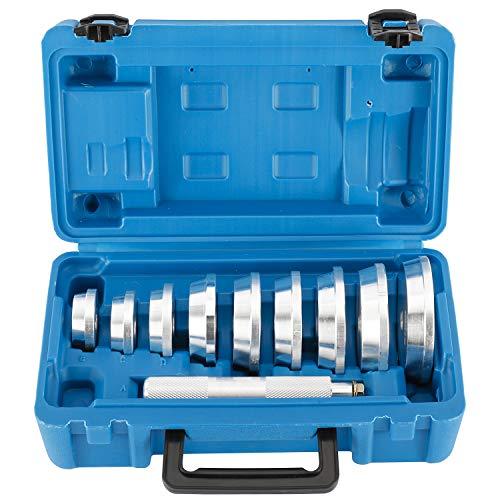 FreeTec 10tlg Lager Buchsen Simmerring Austreiber Eintreiber Treibsatz Werkzeug
