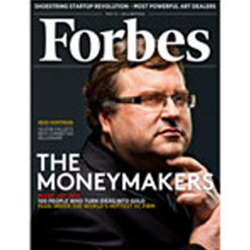 Forbes, May 7, 2012 audiobook cover art