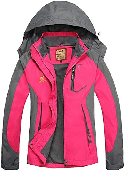 Wacemak1r-Ropa Impermeable para Mujer Chaqueta a ...