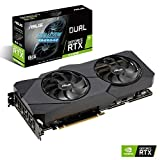 ASUS Nvidia GeForce RTX 2070S DUAL EVO 8G Super Gaming Grafikkarte (PCIe 3.0, 8GB DDR6 Speicher, HDMI, Displayport, USB Type-C)