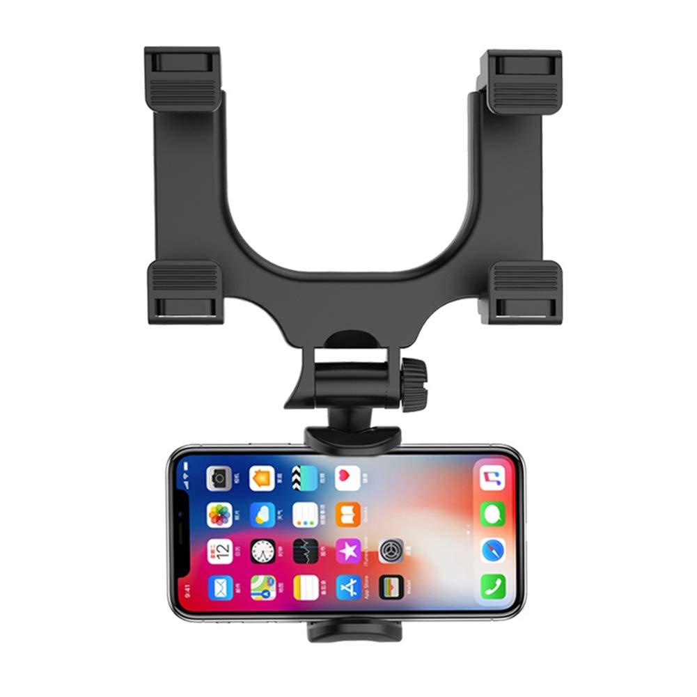 LOL lo - Soporte para teléfono móvil para Coche con Espejo retrovisor, rotación de 360º, Soporte Universal para Smartphone: Amazon.es: Hogar