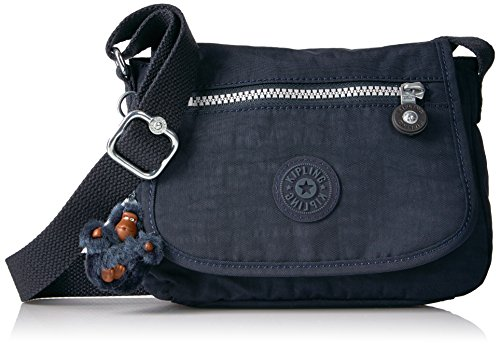 Kipling Sabian Crossbody Mini Bolsa, Azul true, Talla unica