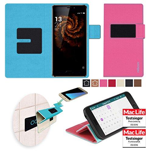 reboon Hülle für Allview X3 Soul Pro Tasche Cover Case Bumper | Pink | Testsieger
