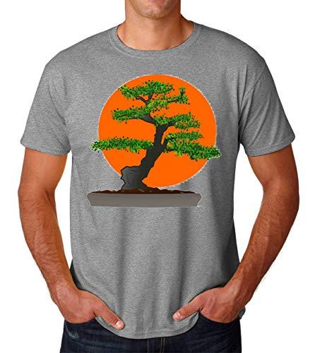 PasTomka Karate Kid Bonsai Japanese Men's T-Shirt Hombre