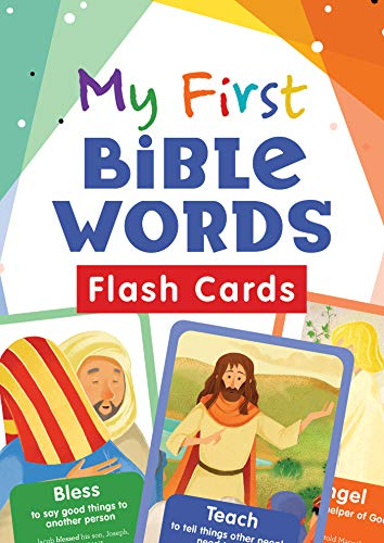 My First Bible Words Flash Cards