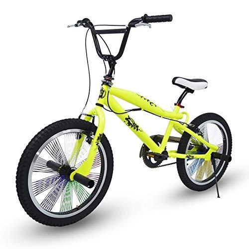 Riscko Fahrrad BMX 360o BEP-31, Gelb (Amarillo Fluor)