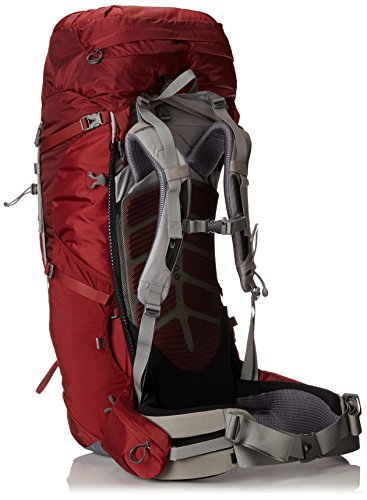 Osprey Men's Aether 70 Backpack, Arroyo Red, Small