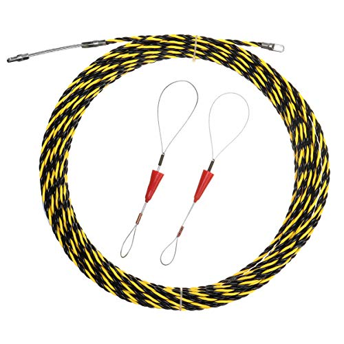 MASUNN 5M/10M/15M/20M spiraalkabel trekker leiding slang kabel staaf vis tape draad gids, 15M, 1