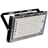 Included Components: 96 LED Chips, 8 IC | Shape: Rectangular Lens Reflector for Better Focus. No Chance of breakage as there is lens in front and not glass. Wattage: 100-Watts; Brightness: 4500 Lumens High Power Factor for low electricity consumption...