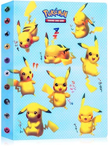 Álbum de Pokemon, Álbum Titular de Tarjetas Pokémon Pokemon Cards Album Pokemon Cards Album Book La Mejor protección para Pokemon Trading Cards GX EX