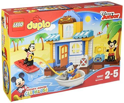 LEGO- Duplo Set Costruzioni Topolino la Casa sulla Spiag, Colore Vari, 10827