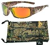 Hornz Forrest braun Camouflage polarisierten Sonnenbrillen für Männer volle Breite Arm Sport...