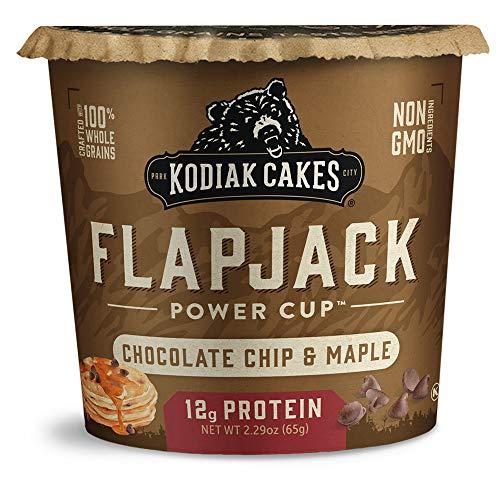 Kodiak Cakes Pancake On the Go, Chocolate Chip & Maple, 2.29 Ounce (Pack of 12)