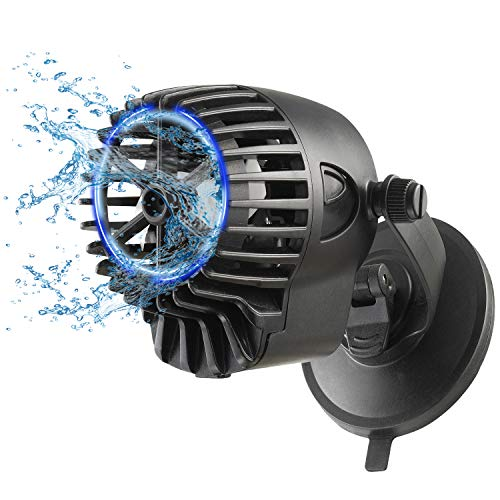 BPS BPS-6095 - Pompa di flusso per acquario, 10000 l/h, con onda da 15 W, QL-300 m, per acquari d'acqua dolce e salata