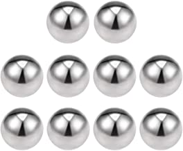 uxcell 7/16-inch Bearing Balls 304 Stainless Steel G100 Precision Balls 10pcs
