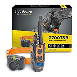 Dogtra 2700T&B Long Range 1-Mile 1-Dog Training & Beeper Remote Dog Training E-Collar for Upland Gun Dog