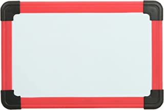 سبورة بيضاء مغناطيسية للاطفال من المعايرجي S-169، 20 × 30 سنتيمتر - احمر واسود