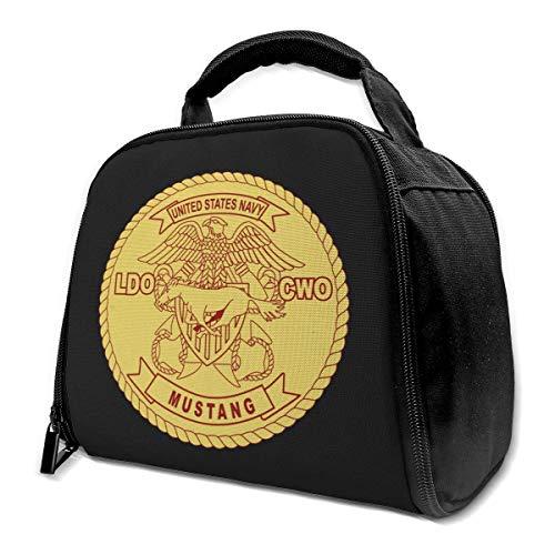 United States Navy Mustang LDO CWO Borsa Da Pranzo Isolata Borsa Da Pranzo Isolata Borsa Da Shopping Borsa Termica Borsa Da Lavoro Per Picnic
