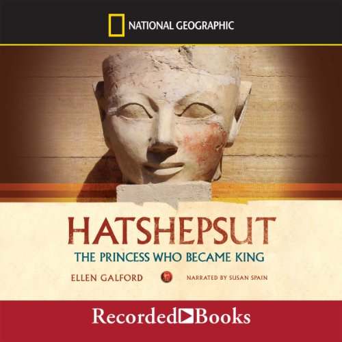 Hatshepsut  audiobook cover art