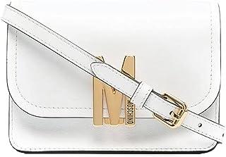 Moschino Tasche Couture klein M Kalbsleder Umhängetasche weiß
