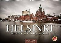 Helsinki / Besuchen - Entdecken - Erleben (Wandkalender 2022 DIN A2 quer): Die Hauptstadt Finnlands, Helsinki, bietet den Besuchern abwechslungsreiche Architektur und viel zu entdecken. (Monatskalender, 14 Seiten )