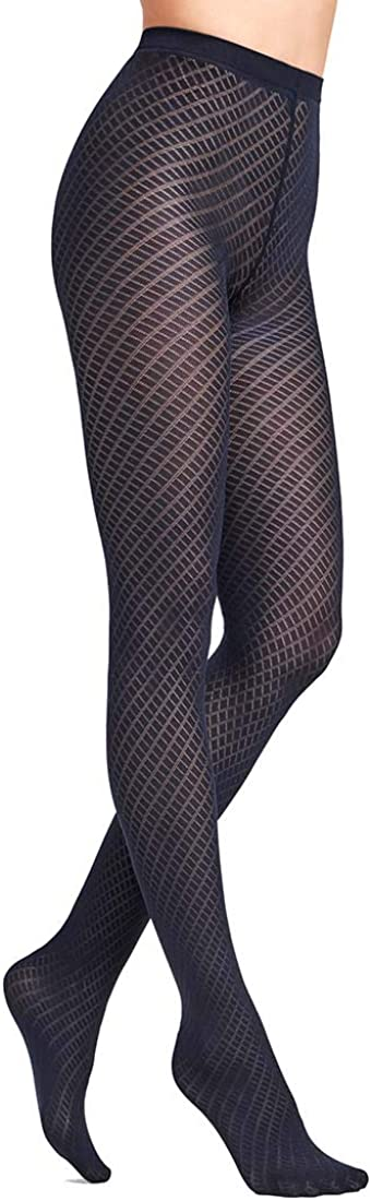 Wolford Women's Gabrielle Diamond Pattern Tights 14789
