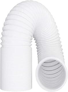 Abluftschlauch 125mm / 5m Luftschlauch PVC Flexibler Schlauch Lüftungsschlauch für Klimaanlage Klimagerät Abzugshaube Wäschetrockner Trockner