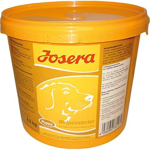 JOSERA Welpenstarter (1 x 2.5 kg)   Welpenmilch für Hundewelpen   Aufzucht-Milch zur Beifütterung in den ersten Wochen (z. B. bei Milchmangel der Hündin)   1er Pack