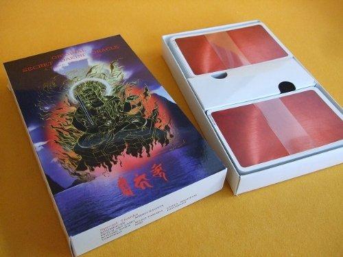 Koumeican Original Secret DAKINI Oracle Tarot Card Japan Influence by Buddha & Samurai